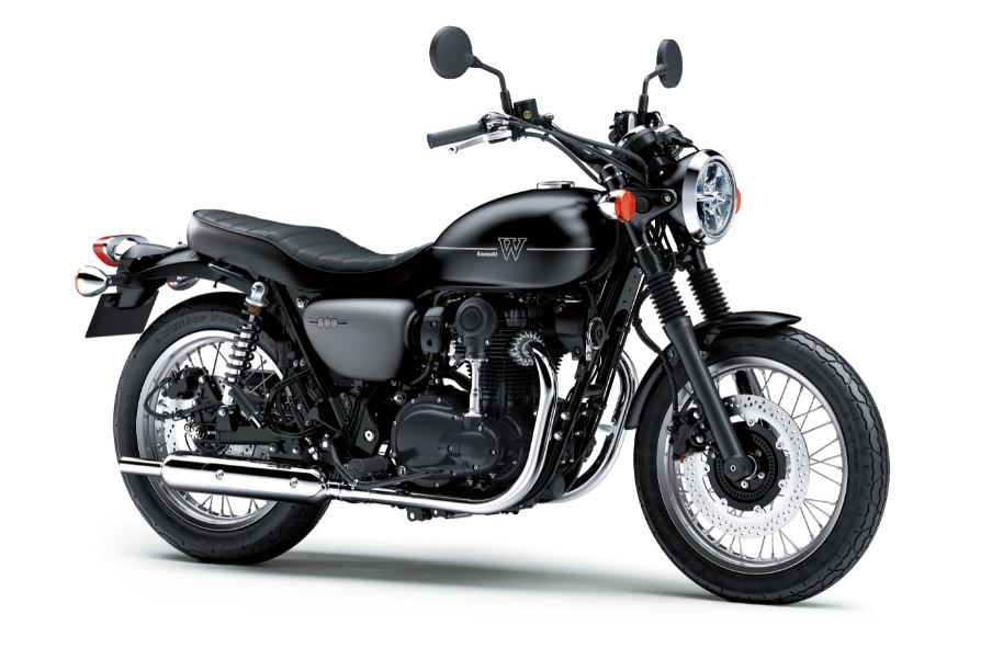 20MY Kawasaki W800 STREET introduced in India at a launching